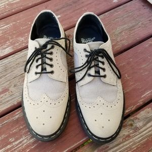 Dr. Martens Ivory Leather Oxfords